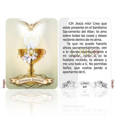 E27 comunión espiritual