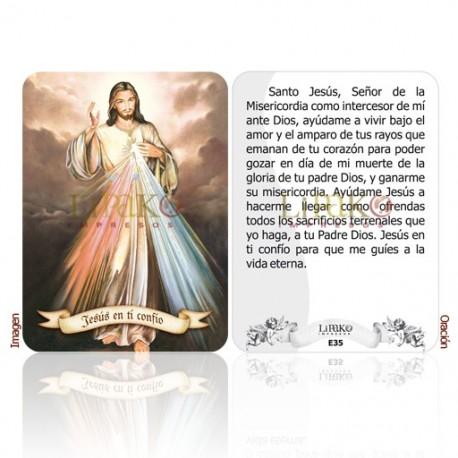 E35 sr. de la misericordia (jesús en ti confío)