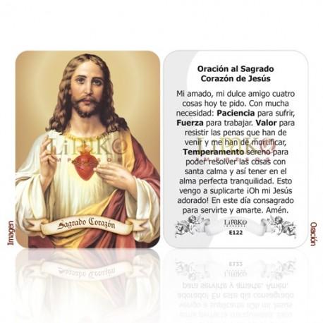 E122 Oración Sagrado Corazón