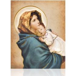 CMD25 H Virgen con Niño ORO