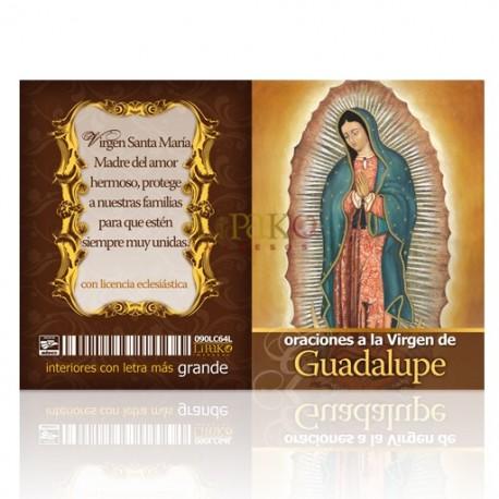 LC64 oraciones a la virgen de guadalupe