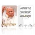San Juan Pablo II  (el objetivo)