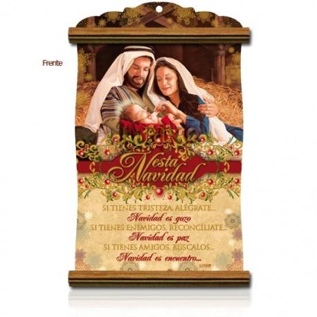 CNV03M  esta navidad con MADERA