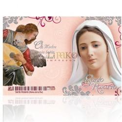 LC45  Santo Rosario PLATA