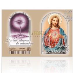 Santo Rosario (Sagrado Corazón) PLATA