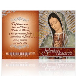 Santo Rosario (Vgen. Guadalupe) PLATA