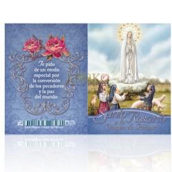 LC72 Santo Rosario (Virgen de Fátima) PLATA