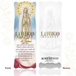 Virgen de Fátima ORO