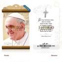 Papa Francisco [rostro] MADERA