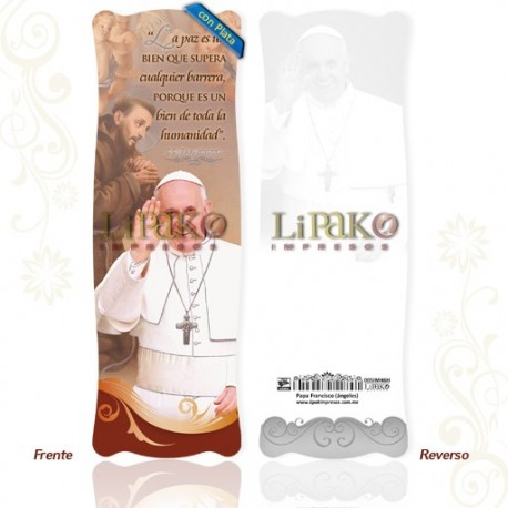 SIM46H Papa Francisco [ángeles] PLATA