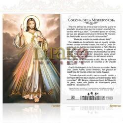 5OPM01H Corona de la misericordia ORO