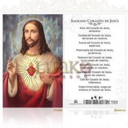 5OPM39H Sagrado Corazón de Jesús ORO