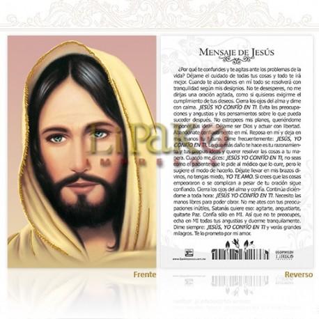 5OPM02H Mensaje de Jesús ORO