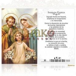 5OPM12H Sagrada Familia ORO