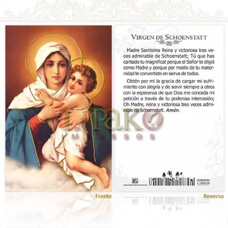 5OPM22H Virgen de Schoenstatt ORO