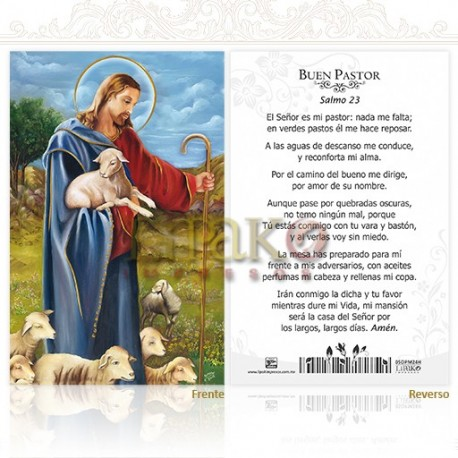 5OPM24H Buen pastor (salmo 23) ORO