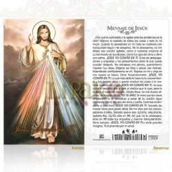 5OPM31 Sr. de la Misericordia (mensaje) ORO