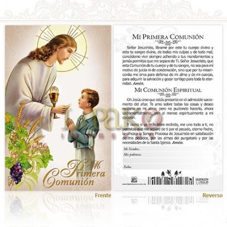 5OPM36H 1ra comunión (niño) ORO