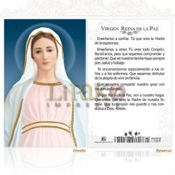 5OPM30H Virgen Reina de la Paz ORO