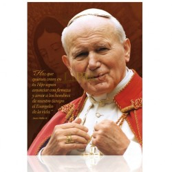 CME41W Juan Pablo II (capa roja) ORO
