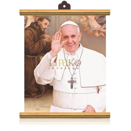 CME51W Papa Francisco (ángeles) PLATA