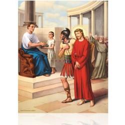 Estación I (Jesús condenado a muerte)