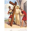 II Jesús cargando la cruz [20x25 cm]
