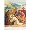 III Jesús cae por primera vez [20x25 cm]