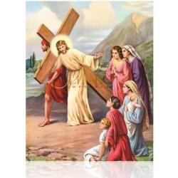 V08X VIII Jesús consuela a las piadosas mujeres [20x25 cm]