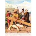 IX Jesús cae la tercera vez [20x25 cm]