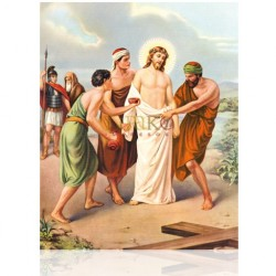 V10C X Jesús es despojado de sus vestiduras [20x25 cm]