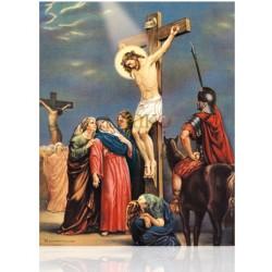 V12C XII Jesús muere en la cruz [20x25 cm]