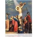XII Jesús muere en la cruz [20x25 cm]