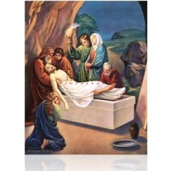 Estación XIV (Jesús depuesto en el sepulcro)