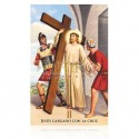 Estación II (Jesús cargando la cruz) [postal]