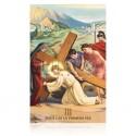 Estación III (Jesús cae por primera vez) [postal]