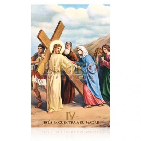 VP4C IV Jesús encuentra a su madre [postal]