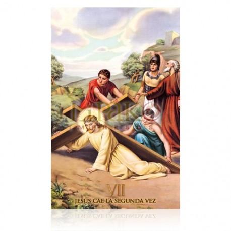 Estación VII (Jesús cae la segunda vez)