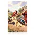 Estación VII (Jesús cae la segunda vez) [postal]