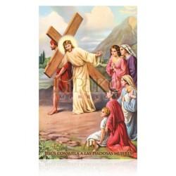 VP8C VIII Jesús consuela a las piadosas mujeres [postal]