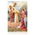 VIII Jesús consuela a las piadosas mujeres [postal]