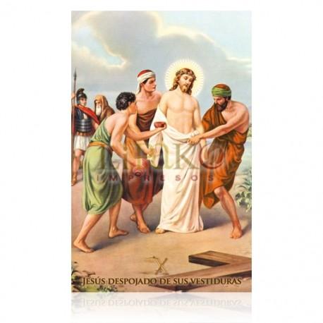 VP10C X Jesús es despojado de sus vestiduras [postal]