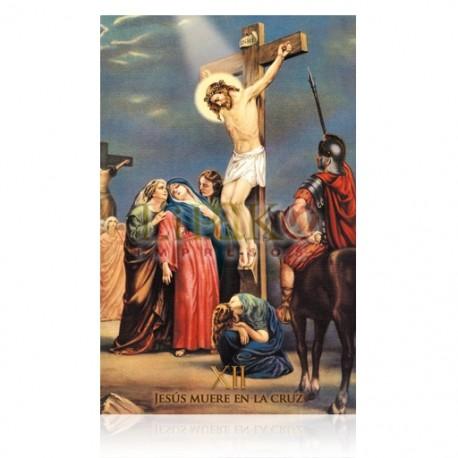 Estación XII (Jesús muere en la cruz)