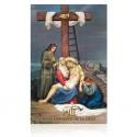 Estación XIII (Jesús depuesto en la cruz) [postal]