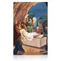 Estación XIV (Jesús depuesto en la cruz) [postal]