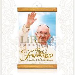 PM44M Papa Francisco [Oración de los 5 dedos] ORO