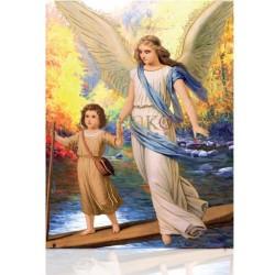 Ángel con Jesús