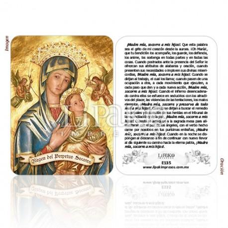 E135 Virgen Perpetuo Socorro