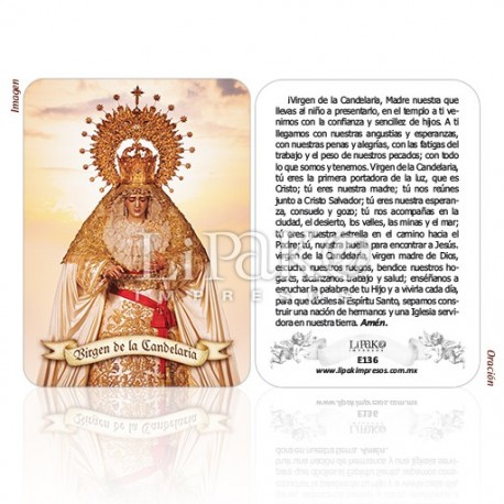 E136 Virgen de la Candelaria