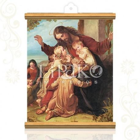 CMA18W Jesús con los niños